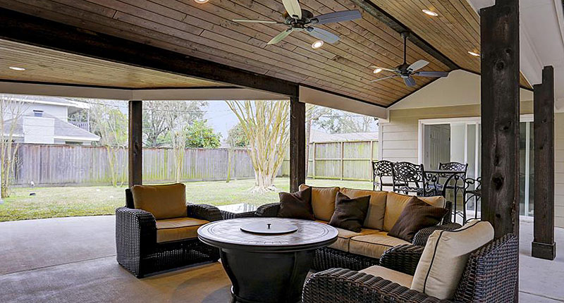 Outdoor living spaces transform your backyard - Covered outdoor living spaces ...